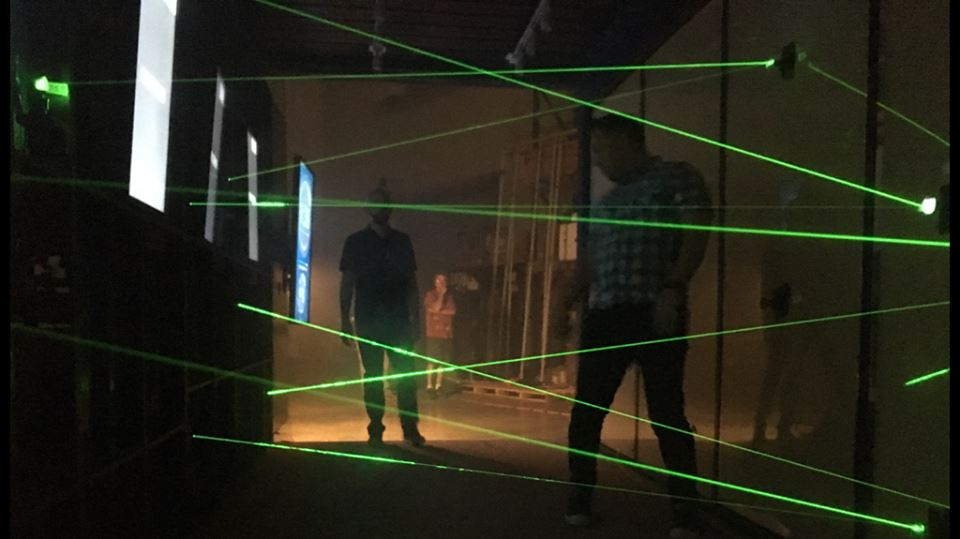 Lasers and games
