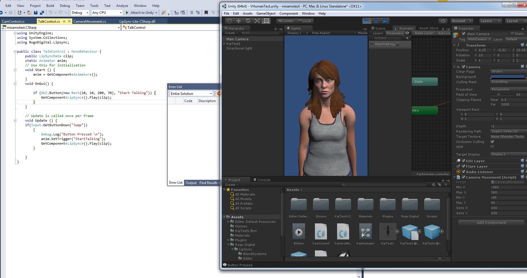 A Fast (and Cheap) Virtual Character Pipeline – kip