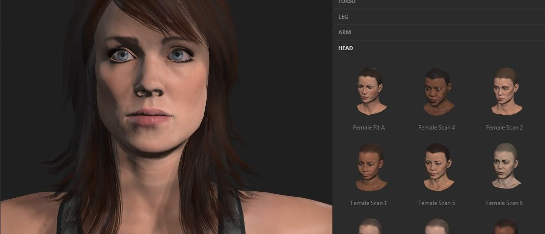 A Fast (and Cheap) Virtual Character Pipeline