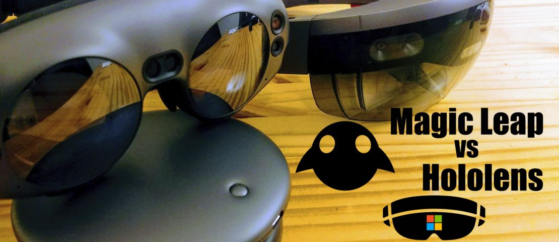 Creating content for the Magic Leap vs the HoloLens, a Developer's Perspective